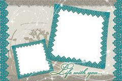 Frames for photo Stock Photos