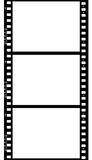 Frames of photographic film ( seamless). Frames of photographic film ( seamless ) isolated on white background royalty free illustration