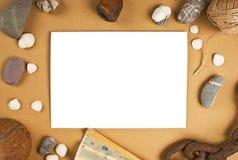 Frames for photos Stock Photography