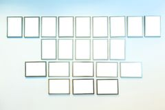 frames picture wall стоковые изображения rf