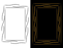 Frames for pictures or text Royalty Free Stock Photos
