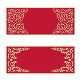 Frames and Plaques of Chinese style Royalty Free Stock Image