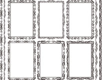 Frames rectangular Stock Photos