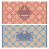 Frames in retro style Royalty Free Stock Photos
