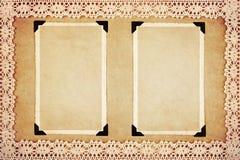 Frames retros da foto Foto de Stock Royalty Free
