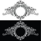 Frames retros de uma cor ilustração royalty free