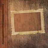 Frames retros do álbum de foto velho Fotografia de Stock
