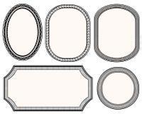 Frames set. Stock Image