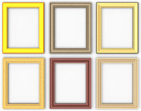 Frames set stock photography
