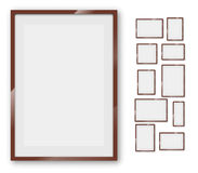 Frames set Stock Photos