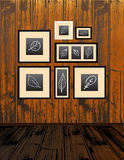 Frames set, drawings Royalty Free Stock Image