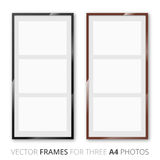 Frames set Stock Images