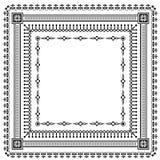 Frames set vintage decorative elements Stock Image