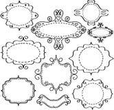 Frames sketch Stock Images