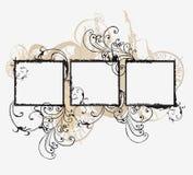 Frames sujos Imagem de Stock Royalty Free