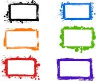 Frames sujos creativos Imagem de Stock