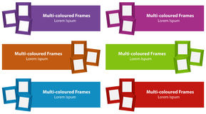 Frames and tags Stock Photography