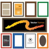 Frames templates Stock Images
