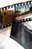 Kaders van de diafilm Stock Foto's
