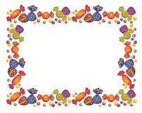 Frames van suikergoed royalty-vrije illustratie