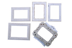 Frames of various sizes and types Stock Photos