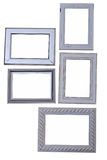 Frames of various sizes and types Stock Images