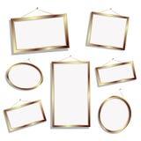 Frames vazios Foto de Stock Royalty Free