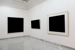 Frames vazios da exposição Fotos de Stock Royalty Free