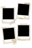 Frames vazios da foto do vintage Fotografia de Stock