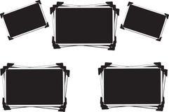Frames vazios em branco da foto Fotos de Stock Royalty Free