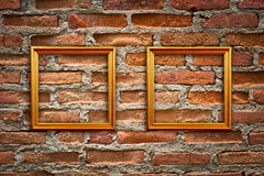 Frames vazios em um quarto Imagem de Stock