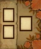 Frames velhos da foto Imagens de Stock