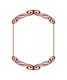 Frames .Vintage .Well built for easy editing . Vector illustration. Stock Images