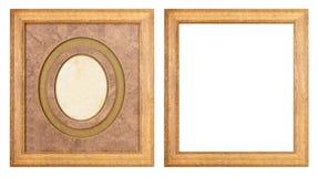 Kaders voor het schilderen en beeld Royalty-vrije Stock Foto's