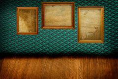 Frames on a wall Royalty Free Stock Photography
