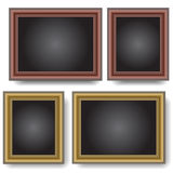Frames on the wall. Stock Photo