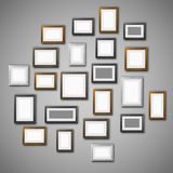 Frames wall Stock Photography