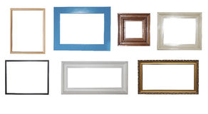 frames on the white background Royalty Free Stock Images