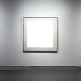 Frames on white wall Stock Image
