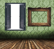 Frames and window blank stock illustration