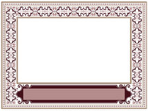 Framework in antique style Royalty Free Stock Photography