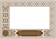 Framework in antique style Royalty Free Stock Images