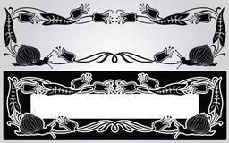 Framework art-nouveau Royalty Free Stock Image