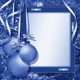 Framework for christmas congratulations Stock Images