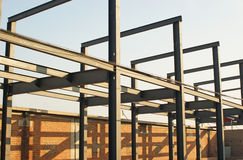 Framework for construction sites Stock Photography