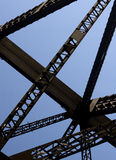 Framework of Darling Harbour Bridge Royalty Free Stock Image