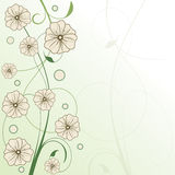 Framework in floral style Royalty Free Stock Images