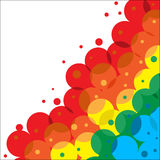 Framework From Colour Circles Royalty Free Stock Images