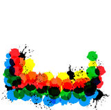 Framework From Colour Circles Royalty Free Stock Photography