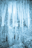 Framework From Icicles Royalty Free Stock Image